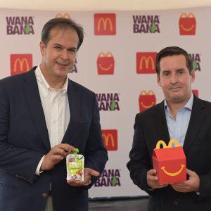 McDonald's incluye a WanaBana en su Cajita Feliz